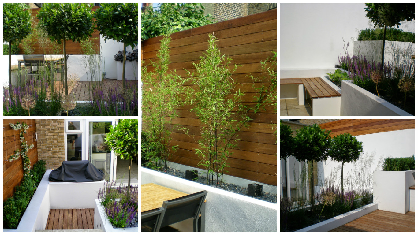 Modern Garden Design cool small modern garden design on garden designs Garden Design Clapham