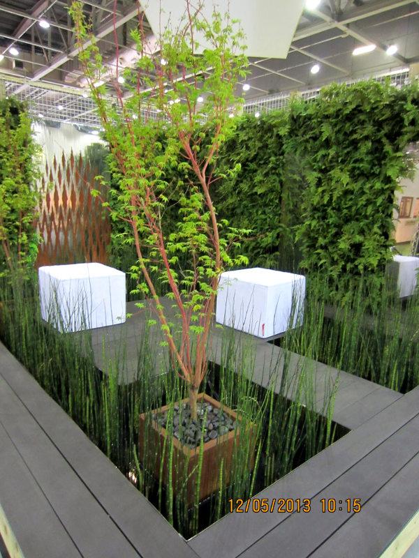 Planted green walls