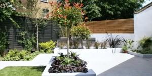 picture modern garden design clapham