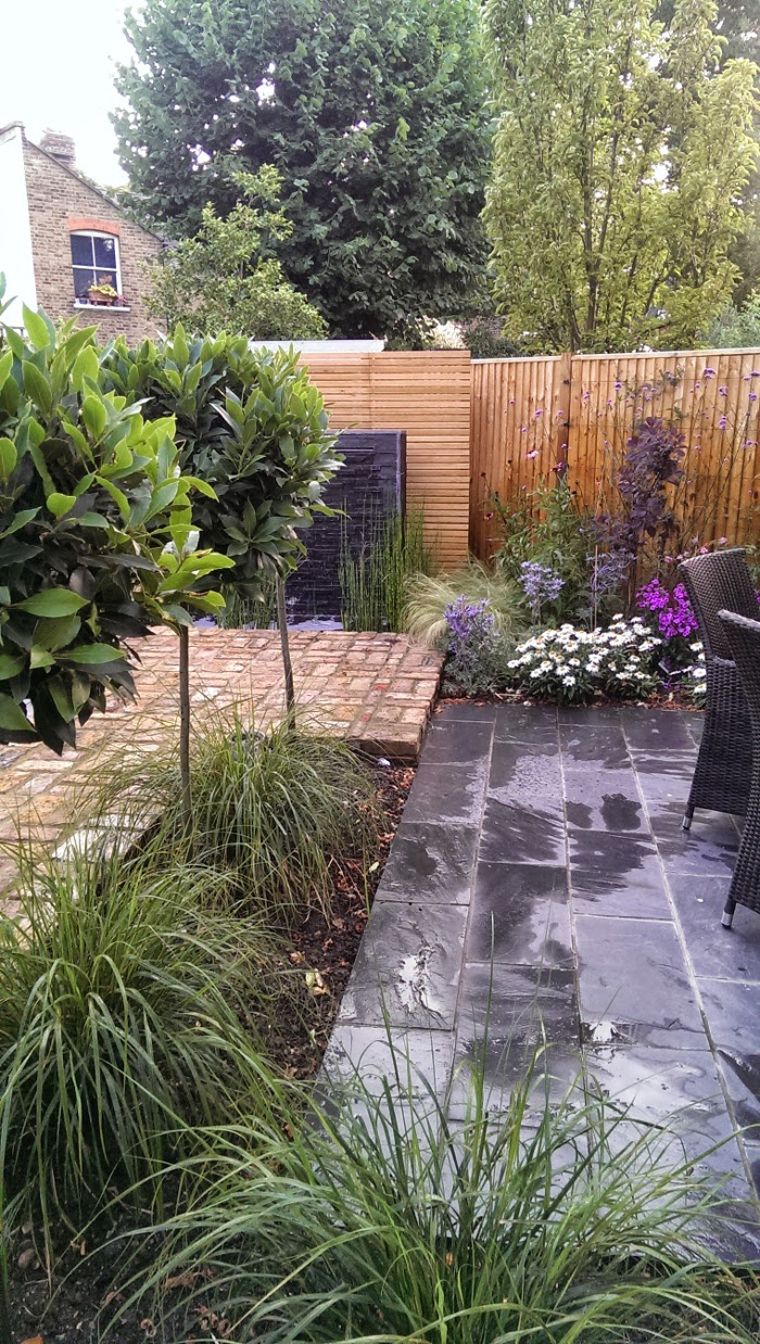 richmond garden design paving