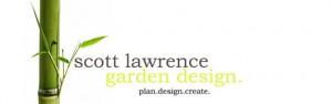 scott lawrence garden design logo