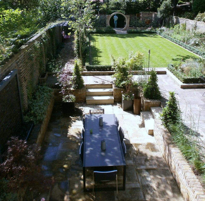 barnes garden design from above